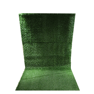 grass wall photo booth backdrop