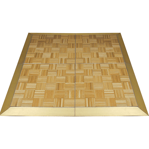 timber style dance floor for parties, weddings and events