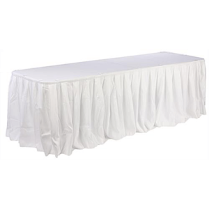 Banquet table plus cloth