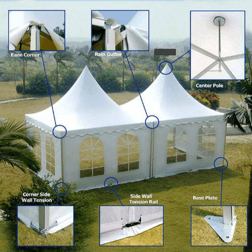Pagoda Tent 3x3 Host Events
