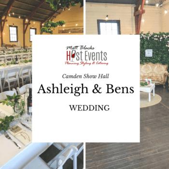 real weddings ashleigh ben camden show
