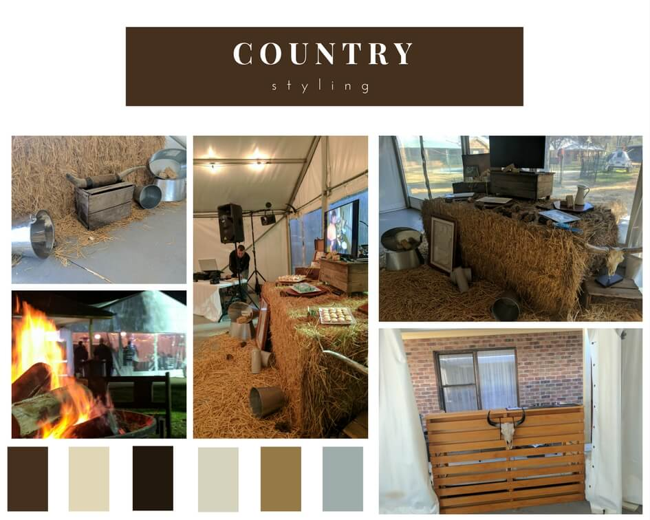 country wedding colour theme ideas color palette