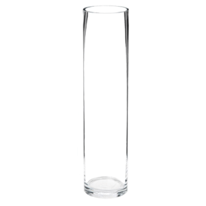 cylinder glass vase centerpiece hire for weddings and events
