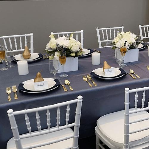 chiavari table chair event hire wedding birthday celebration
