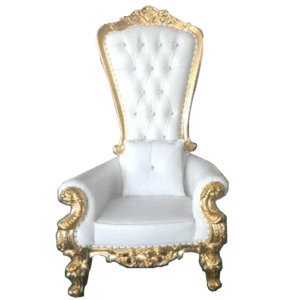 gold throne chair hire sydney for weddings and birthdays