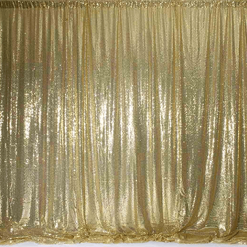 gold sequin curtain backdrop hire sydney