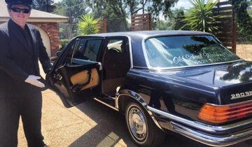 Old School Wedding Cars